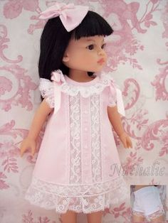 Robe Rose Petite Culotte ET Noeud Pour Poupée Paola Reina Little Darling | eBay