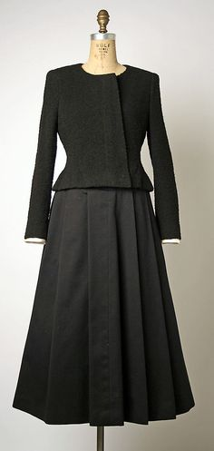 Cocktail Ensemble  (a–c) House of Chanel  (French, founded 1913)