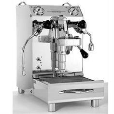 Vibiemme domobar Hx junior is my espresso machine choice for the home....extremely small, well built and $300 less than the Cellini. Mantis ?