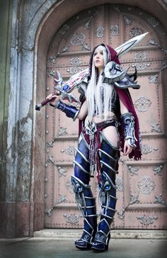 Death Knight (World of Warcraft) by Lightning Cosplay #cosplay