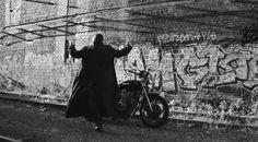 #model #shooting #fashion #man #bikefashion #bike #leather #lifestyle  #mensfashion #couture