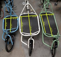 The perfect vehicle for family fun, cargo transport,and neighborhood errands. CETMA Cargo bikes are made entirely by hand in Venice, California.   Design Fe