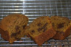 Can I get that recipe?: Pumpkin Mocha Bread with Chocolate Chunks