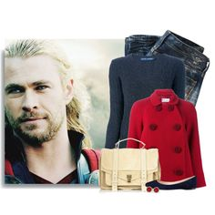 """""""Thor"""" by ameve on Polyvore"""