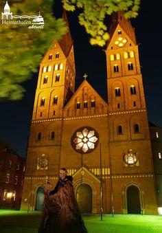 In Hamburg - St. Georg: Die Domkirche St. Marien