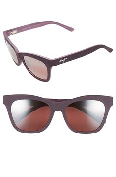 Maui Jim 'Sweet Leilani' 53mm Cat Eye Sunglasses