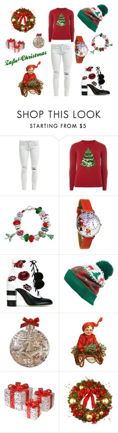 """Magic! Glow! christmast!"" by milica-filipovic-383 ❤ liked on Polyvore featuring Dorothy Perkins, Bling Jewelry, GEDEBE, Collection XIIX, Jay Import, National Tree Company, gifts, christmastree and HolidayParty"
