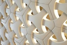 To fire your interior monologue on the subject of tile and stone, we're proud to offer our 2015 ANN SACKS new collections. 3d Wall Tiles, Wall Tiles Design, Concrete Casting, Concrete Stone, Breeze Block Wall, Casa Retro, Graphic Design Quotes, Architectural House Plans, 3d Wall Decor