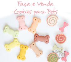 Faça & Venda Cookies para Pets e fature!! Na Cozinha do Quintal Homemade Dog Treats, Pet Treats, West Terrier, Cat Hotel, Pet Style, Cookie Packaging, Dog Eating, Love Pet, Diy Stuffed Animals