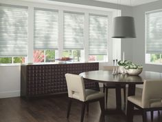 Shown with Solera® Soft Shades, available at Edgewood Custom Interiors
