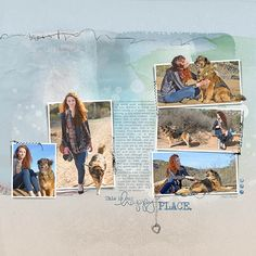Hiker Dog Pg2 - so cute