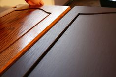 Rustoleum Cabinet Transformations - This blog explains the good, the bad & the fantastic results of this inexpensive fix to redoing your entire cabinetry.