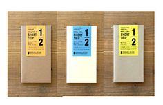 "Midori Traveler'S Notebook ""Short Trip"" Refill (regular size) by niconecozakkaya on Etsy"