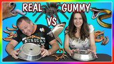 HORRIBLE REAL FOOD VS GUMMY FOOD CHALLENGE! | PARENTS EDITION | We Are T...