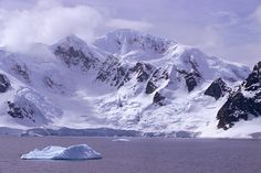 Anvers Island Neumayer Channel. Antarctic Peninsula.