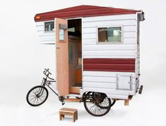 The Camper Bike is a fully functioning RV that's perfect for road trips!