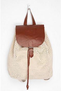 UrbanOutfitters.com > Kimchi Blue Crochet Backpack