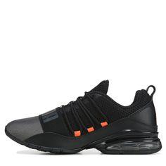 Mens Puma Shoes, Puma Mens, Sporty Style, Sporty Fashion, Black Running Shoes, Pumas Shoes, Womens Slippers, Boys Shoes, Beautiful Shoes
