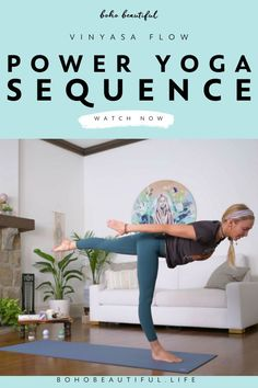 A 10 minute yoga class for strength, grounding, and to feel great.   At Home Yoga Workout for Women   This vinyasa power yoga flow will help you set yourself and your day up for success as quickly and effectively as possible. Through blissful sequences of asanas and breathing you will reconnect with yourself, improve blood circulation, and realign your energy.   Power Yoga Flow Sequence   Juliana Spicoluk Yoga Instructor   Boho Beautiful #yoga #vinyasa #workout #fitness #exercise