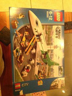 Lego city cargo plane