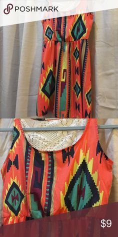I Joah Lightweight Dress Size Juniors Small Lightweight tribal print dress by I Joah. Size Juniors Small. Excellent condition. I Joah Dresses Mini