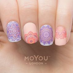 We swoon over pastels especially with the #MoYouLondon Mani flair! Mandela Plates Available Now!
