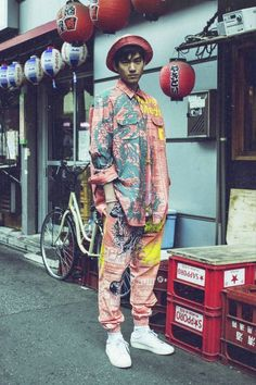 Japan - culture - streetstyle - colour - typical -  http://robertopiqueras.tumblr.com/post/120172461647