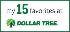 15 Things You Should Purchase at Dollar Tree