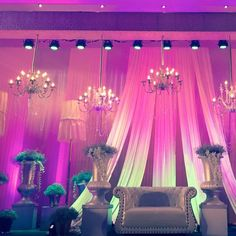 Classic stage decor ideas for your Wedding. For more creative wedding decor ideas, check http://www.3productionweddings.com/signature-weddings-bangalore.html