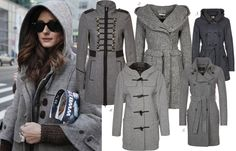 Gray jacket <3 Daily Style, My Style, Fall Must Haves, Gray Jacket, Daily Fashion, Military Jacket, Fall Outfits, Costumes, Grey