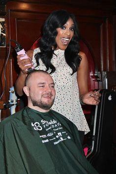 PEEPSHOW Stars Cheaza and Josh Strickland kick off Rí Rá Las Vegas' St. Baldrick's Fundraiser