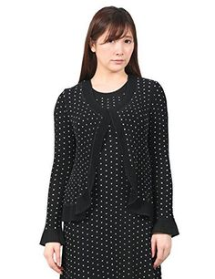 Product review for Pleated Polka dot Bolero Blazer Womens S M L XL 1X 2X 3X.  - Design to use both polka dot and plain black fabric. Very simple yet versatile silhouette, can be worn with a dress or blouse.(sold separately) Polka dots have been a standard in any trends. Ever-lasting and simple design can be enjoyed for a long time without worrying about the fashion...