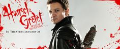 Jeremy Renner - Hansel and Gretel Movie Banner No.1