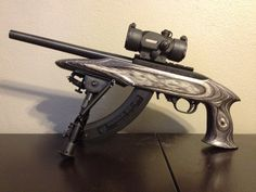 Ruger 10/22 .22LR with Charger pistol stock