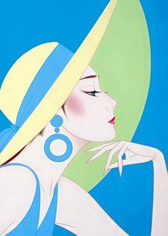 Painting by Ichiro Tsuruta.