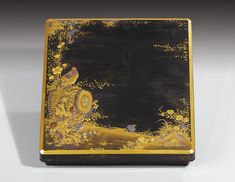 A LACQUER WRITING BOX AND COVER (SUZURIBAKO), JAPAN, EDO PERIOD, 18TH CENTURY