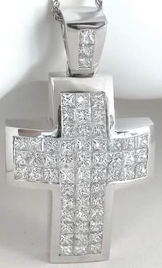 18kt white gold cross diamond pendant with 051 carats diamond 18kt white gold cross diamond pendant with 051 carats diamond pendants pinterest diamond pendant and gold cross mozeypictures Choice Image