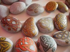 Painted rocks by SashaSi