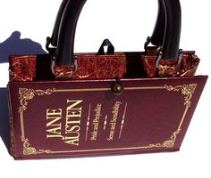 purse made out of an old book! this is amazing and i am totally making one.