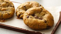 NEW 2-Ingredient Candy Filled Chocolate Chip Cookies