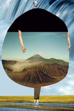 <p>Love love love the mixed media collages of Johanna Goodman. The illustrator and collage artist series 'Catalogue of Imaginary Beings'. An imaginary scientific research catalogue in the spirit of Au