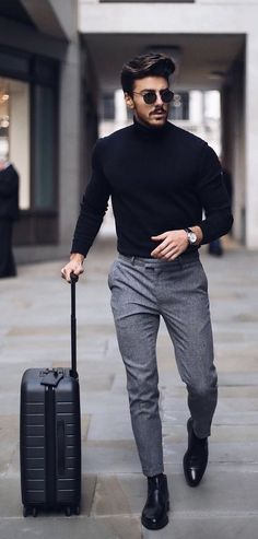 Business Casual Men - 24 Business casual outfits for you! Business Casual Men, Business Outfits, Men Casual, Formal Men Outfit, Men Formal, Dress Casual, Casual Wear, Formal Dresses For Men, Dress Formal