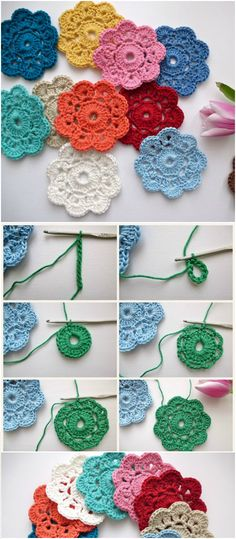 I have rounded up gorgeous #crochet #flowers #pattern to beautify your home that will really inspire you and you will love to try them out with your own hands:The Maybelle Crochet Flower