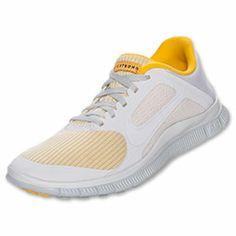 Women's Nike Free 4.0 V3 Running Shoes| FinishLine.com | White/Pure Platinum