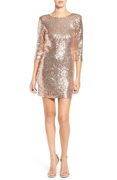 TFNC 'Paris' Sequin Body-Con Dress available at #Nordstrom