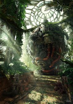 Heart of Eden by Darkki1 #LoveArt - http://wp.me/p6qjkV-5SG  #Art