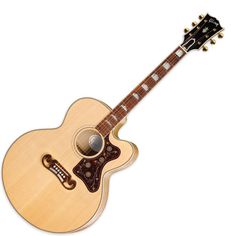 i am dying for this blonde Gibson SJ-200 EC.  it's so beautiful...