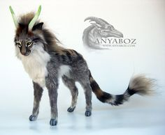 Fantasy Feline Room Guardian by AnyaBoz on DeviantArt