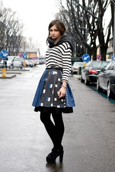 at first I was unsure and now I really just love it. milan fashion week street chic.