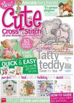 Cute Cross Stitch no 2 2013 Cute Stitch, Cute Cross Stitch, Beaded Cross Stitch, Cross Stitch Embroidery, Cross Stitch Tree, Cross Stitch Books, Cross Stitch Charts, Cross Stitch Patterns, Magazine Cross